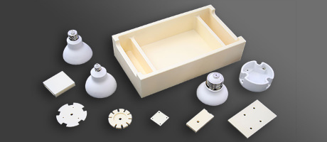 Ceramic Heat sinks for LED parts