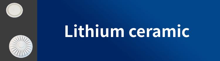 Lithium ceramic N-10J(β-spodumene, petalite)
