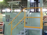 CIP機(Cold Isostatic Pressing 、冷間静水圧加圧)