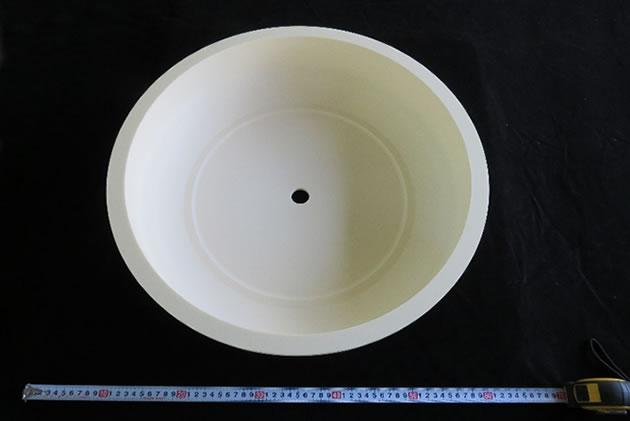 耐プラズマ用ドーム N-99 アルミナセラミックス2