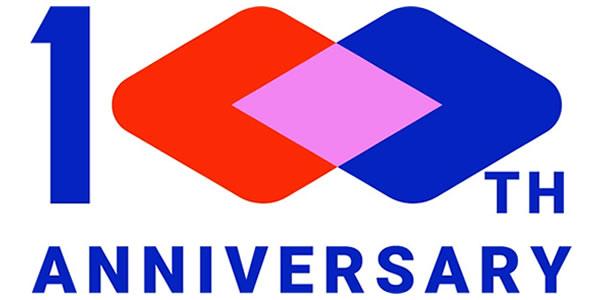 100周年ロゴ600×300