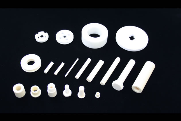 Ceramic machine parts and ceramic pump parts