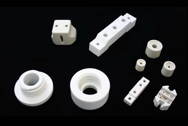 Ceramic for power supply devices and insulators