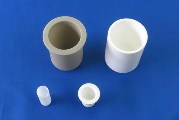 High purity Alumina ceramic crucible, Aluminum Nitride ceramic crucible