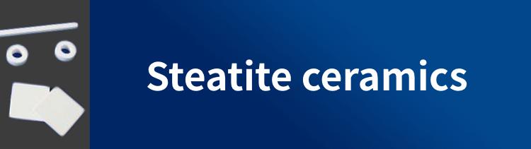 Steatite ceramics / Black color Steatite