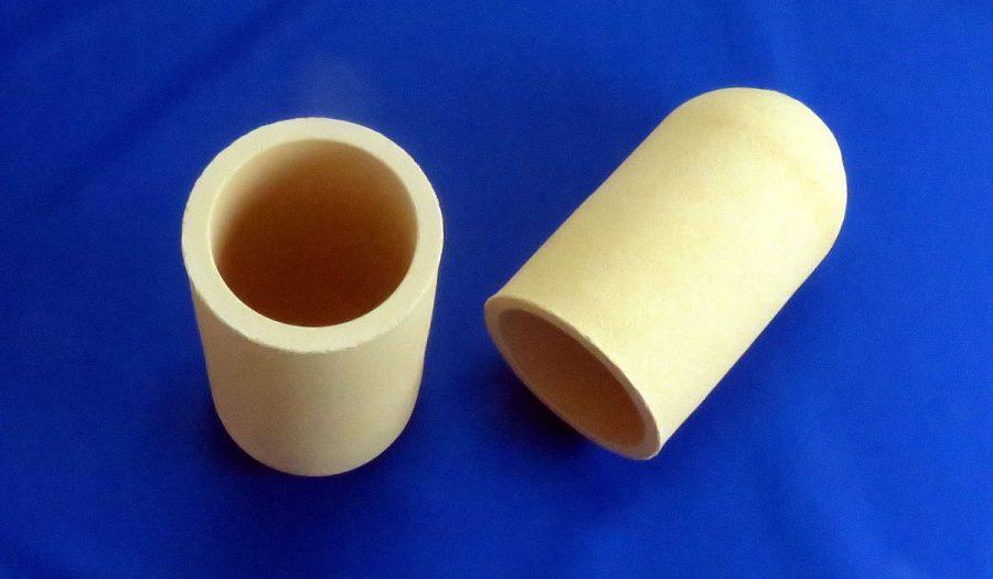 白金溶融用CaO安定化ジルコニアるつぼ